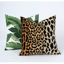 pillow covers yellow animal