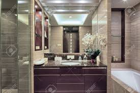 luxury hotel bathroom modern design