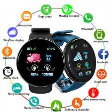 <b>Smart watch D19</b> BT4.0 <b>Smart Watch</b> Sleep Monitoring Fitness ...