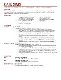 social work resume sample com social work resume sample and get inspiration to create a good resume 11