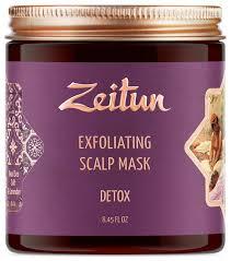 Zeitun Скраб-<b>маска для кожи</b> головы и волос Детокс с солью ...