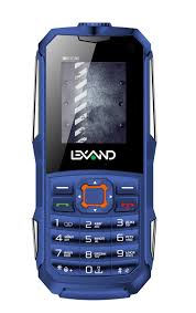 Мобильный <b>телефон Lexand R2</b> Stone, синий