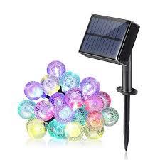 <b>100</b>-<b>LED Solar</b> Power / Charging Dual-use String <b>Light</b> for ...
