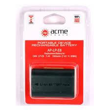 <b>Аккумулятор AcmePower</b> LP-E6 для CANON EOS 5D Mark 2/EOS 7D
