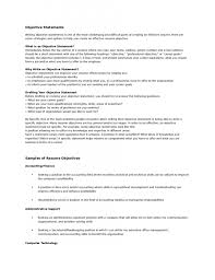 glitzy objective sentences for resumes brefash objective statement resume