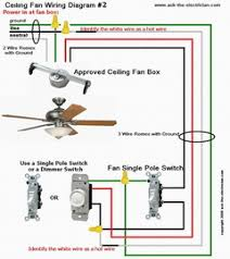 install and wire a ceiling fan ceiling fan wiring diagram 2