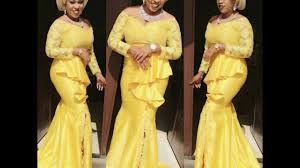 Latest <b>African Cord Lace</b> Aso Ebi & Ankara Styles For <b>2016</b>, 2017 ...