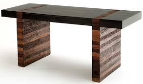 modern rustic desk sustainable office furniture build rustic office desk