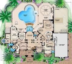 Mar A Lago Mediterranean House Plan    ALP  C   Chatham Design    Floor Plans for House Plan  ALP  C