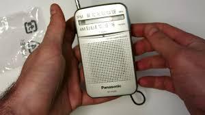 Розпаковка радіоприймача <b>Panasonic RF</b>-P50DEG-<b>S</b> із Rozetka ...