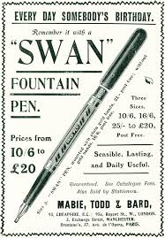 Image result for 'SWAN' PENS.