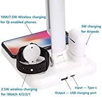 <b>Flexible Usb Led</b> Light Multifunction qi Charger Lamp for <b>Desk</b>: Buy ...