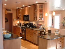style kitchen tables galley
