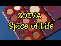 Swatches of the <b>ZOEVA Spice of Life</b> Eyeshadow & Highlighter ...