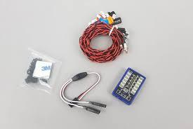 <b>Комплект светотехники Fuse</b> Flashing LED Lighting Kit for 1:10th ...