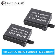 Новое 2xAHDBT-401 + <b>двойное зарядное устройство для</b> Gopro ...