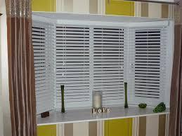 bay window vertical blinds