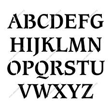 stencil letters printable stencil letters fonts numbers shop stencils letters numbers