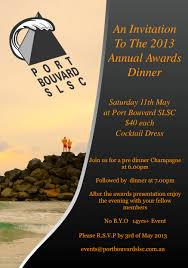 annual awards nightport bouvard slsc port bouvard slsc annual awards dinner port bouvard slsc
