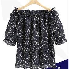 2017 Korean <b>Fashion</b> Spring <b>Autumn</b> for <b>Women Chiffon</b> Blouse ...