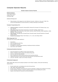 new resume format for computer operator 61 for coloring pages beautiful resume format for computer operator 95 additional coloring site resume format for computer
