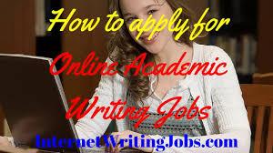 academic writing job academic writing jobs online