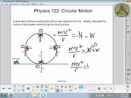 physics 122 making the loop circular motion physics 122 making the loop circular motion