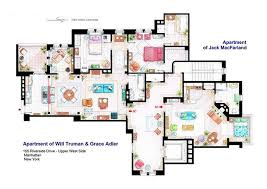 Famous Television Show Home Floor Plans   HiConsumptionFamous Television Show Home Floor Plans