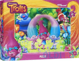 "<b>Пазл 260 элементов Step</b> Puzzle ""Trolls"" 95053 — купить по ..."