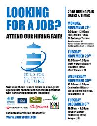 skills for rhode island s future linkedin skills hiring fair flyer png