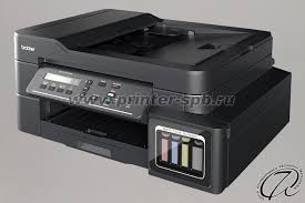 Струйное <b>МФУ Brother DCP-T710W</b>: фирменная СНПЧ, Wi-Fi и АПД
