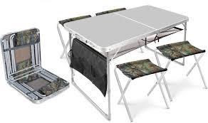 <b>Набор</b> мебели складной из алюминия и водостойкого пластика ...