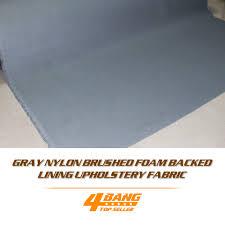 High Quality gray foam backing <b>roof</b> lining <b>auto ceiling</b> pro ...