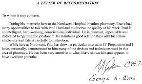 Recommendation Letter Graduate School Example   Cover Letter Templates lbartman com