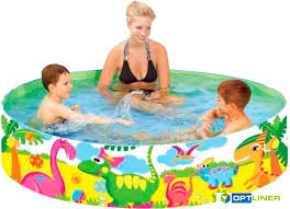 Каркасный <b>бассейн Jilong Dinosaur</b> Rigid <b>Pool</b> (JL017129NPF ...