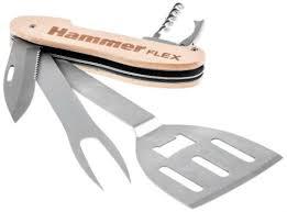 Купить <b>Мультитул</b> для гриля Hammer Flex, разборный, 5 ...
