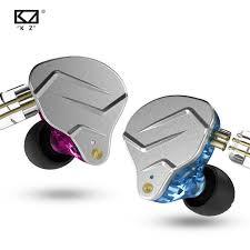 KZ ZSN Pro <b>Metal Earphones</b> 1BA+1DD Hybrid technology <b>HIFI</b> ...