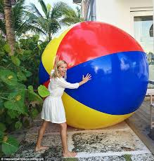 Image result for pics of beach balls and funeral homes