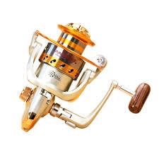 Yumoshi EF1000 7000 12BB 5.2:1 <b>Metal Spinning Fishing Reel</b> Fly ...