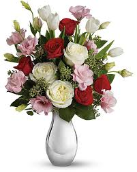 Teleflora's <b>Love Forever</b> Bouquet with Red Roses - Teleflora