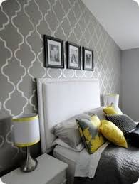 yellow and gray bedroom: little love notes gray yellowthis color combo has grown on me les images pinterest note love notes and guest rooms