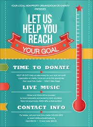 thermometer flyer fundraising thermometer flyer