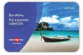 MakeMyTrip Gift Card-Rs.1000 : Amazon.in: Gift Cards