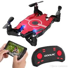 <b>GoolRC T49</b> 6- Axis Gyro WIFI FPV 720P HD Camera Drone Foldabl...