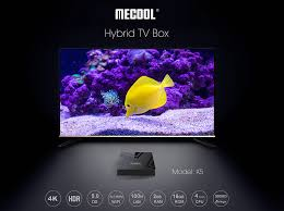 <b>Mecool K5 DVB-T2</b> DVB-S2 2GB/16GB Android 9.0 TV Box Amlogic ...