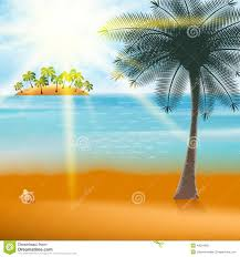 vector summer holiday flyer design palm trees royalty summer holiday flyer design palm trees royalty stock photo