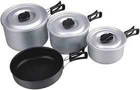 AceCamp Camping Cooking Set 3-4 People : Sports ... - Amazon.com