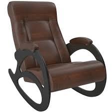 <b>Кресло</b>-<b>качалка Модель</b> 4, венге/крокодил коричневый - купить по ...