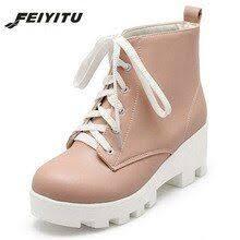 enmayer 2019 winter boots women basic square heel round toe faux suede slim animal prints size 34 43