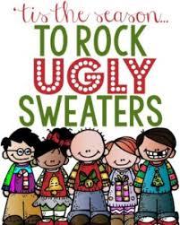 Spirit Day ~ Ugly <b>Sweater Theme</b> - Richardson